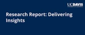 UC Davis Market Research Course
